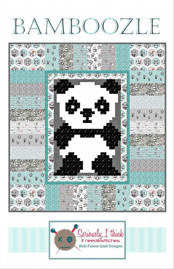 Bamboozle quilt sewing pattern from Kelli Fannin Quilt Designs