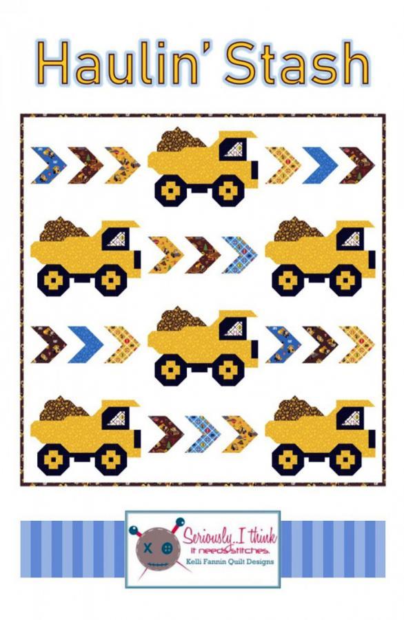 Haulin-Stash-quilt-sewing-pattern-Kelli-Fannin-Quilt-Designs-front