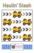 Haulin' Stash quilt sewing pattern from Kelli Fannin Quilt Designs