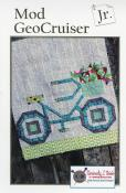 Mod GeoCruiser JR. quilt sewing pattern from Kelli Fannin Quilt Designs