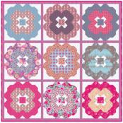 Awesome Blossom quilt sewing pattern from Kelli Fannin Quilt Designs 2