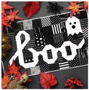 Boo Eek Mini quilt sewing pattern from Kelli Fannin Quilt Designs 2
