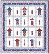 Bottle Rockets quilt sewing pattern from Kelli Fannin Quilt Designs 2