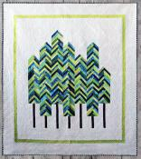 Into The Woods quilt sewing pattern from Kelli Fannin Quilt Designs 2