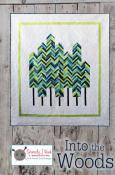 Into The Woods quilt sewing pattern from Kelli Fannin Quilt Designs