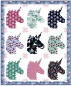 Team Unicorn quilt sewing pattern from Kelli Fannin Quilt Designs 2
