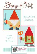 Gnomeo & Juliet quilt sewing pattern from Kelli Fannin Quilt Designs