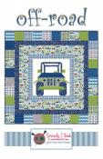 Off Road quilt sewing pattern from Kelli Fannin Quilt Designs