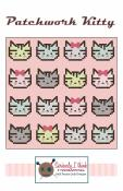 Patchwork Kitty quilt sewing pattern from Kelli Fannin Quilt Designs
