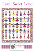 Love Sweet Love quilt sewing pattern from Kelli Fannin Quilt Designs