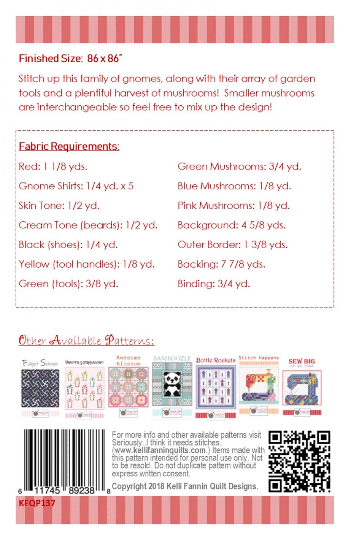 Gnomenclature-quilt-sewing-pattern-Kelli-Fannin-Quilt-Designs-back
