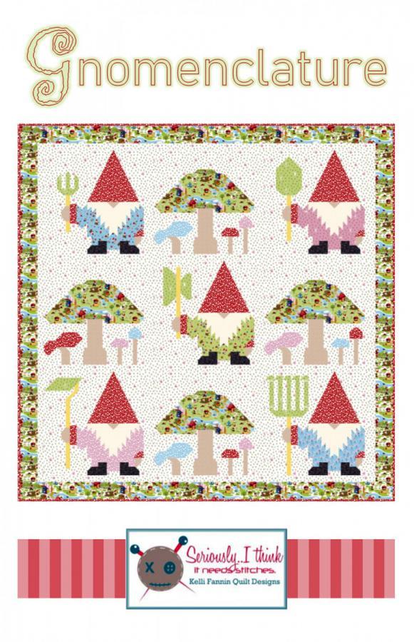 Gnomenclature-quilt-sewing-pattern-Kelli-Fannin-Quilt-Designs-front