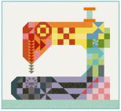 Stitch Happens quilt sewing pattern from Kelli Fannin Quilt Designs 2