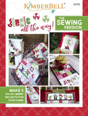 Jingle All The Way sewing pattern book from KimberBell Designs