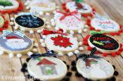Happy Hoop Decor Volume 1 Whimsical Christmas Ornaments Machine Embroidery CD from KimberBell Designs 3