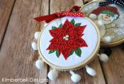 Happy Hoop Decor Volume 1 Whimsical Christmas Ornaments Machine Embroidery CD from KimberBell Designs 4