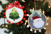 Happy Hoop Decor Volume 1 Whimsical Christmas Ornaments Machine Embroidery CD from KimberBell Designs 6