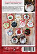 Happy Hoop Decor Volume 1 Whimsical Christmas Ornaments Machine Embroidery CD from KimberBell Designs 1