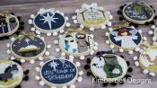 INVENTORY REDUCTION...Happy Hoop Decor Volume 2 Christmas Nativity Ornaments Machine Embroidery CD from KimberBell Designs 2