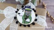 INVENTORY REDUCTION...Happy Hoop Decor Volume 2 Christmas Nativity Ornaments Machine Embroidery CD from KimberBell Designs 4