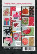 INVENTORY REDUCTION...Mug Rugs Volume 1 Holiday and Seasonal Machine Embroidery CD from KimberBell Designs 1