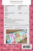 Hoppy Easter Bench Pillow sewing pattern from KimberBell Designs 1