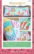 Hoppy Easter Bench Pillow sewing pattern from KimberBell Designs 2