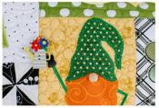 Luck O The Gnome Bench Pillow Machine Embroidery CD from KimberBell Designs 4