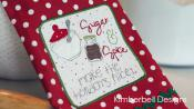 We Whisk you a Merry Christmas (SEWING VERSION) sewing pattern book from KimberBell Designs 4