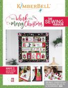 CLOSEOUT...We Whisk you a Merry Christmas (SEWING VERSION) sewing pattern book from KimberBell Designs
