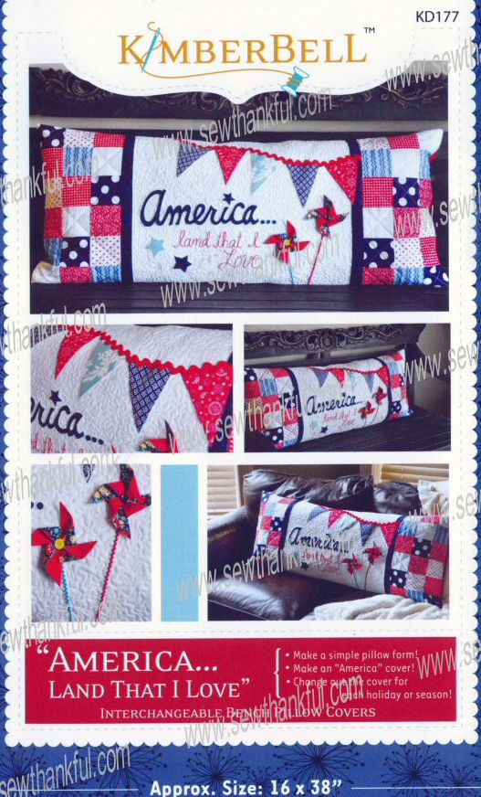 America_Land_That_I_Love_Bench_Pillow