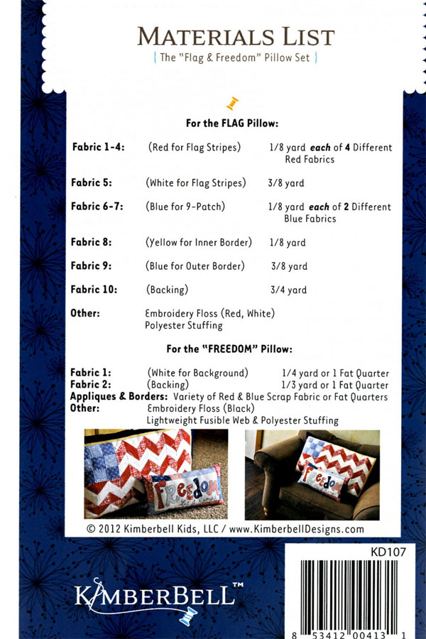 Flag-and-Freedom-Pillow-Set-sewing-pattern-Kimberbell-back