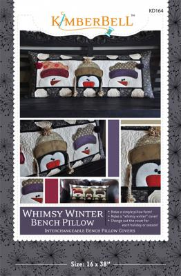 Whimsy Winter Pillow sewing pattern from KimberBell Designs