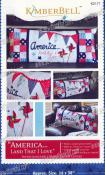 America...Land that I Love Bench Pillow sewing pattern from KimberBell Designs
