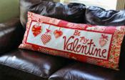 Be My Valentine Bench Pillow sewing pattern from KimberBell Designs 2