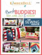 Bench Buddies May, June, July & August (the SEWING version) sewing pattern from KimberBell Designs
