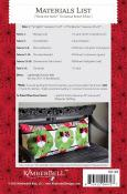 Deck the Halls Bench Pillow sewing pattern from KimberBell Designs 2