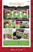 Deck the Halls Bench Pillow sewing pattern from KimberBell Designs