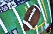 Game On! Football Bench Pillow sewing pattern from KimberBell Designs 6