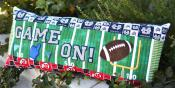 Game On! Football Bench Pillow sewing pattern from KimberBell Designs 7