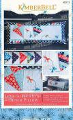 Let's Go Fly a Kite! Bench Pillow sewing pattern from KimberBell Designs