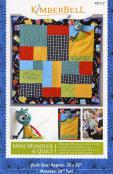 Mini Monster & Quilt sewing pattern from KimberBell Designs