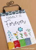 Mini Wall Hangings, Vol. 1 - The Happy Home (sewing & hand embroidery version) sewing pattern from KimberBell Designs 4