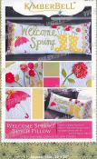 Welcome Spring! Bench Pillow sewing pattern from KimberBell Designs