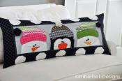 Whimsy Winter Pillow sewing pattern from KimberBell Designs 3