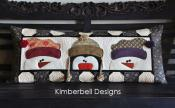 Whimsy Winter Pillow sewing pattern from KimberBell Designs 4