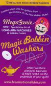 CLOSEOUT...Mega Genie Magic Bobbin Washers