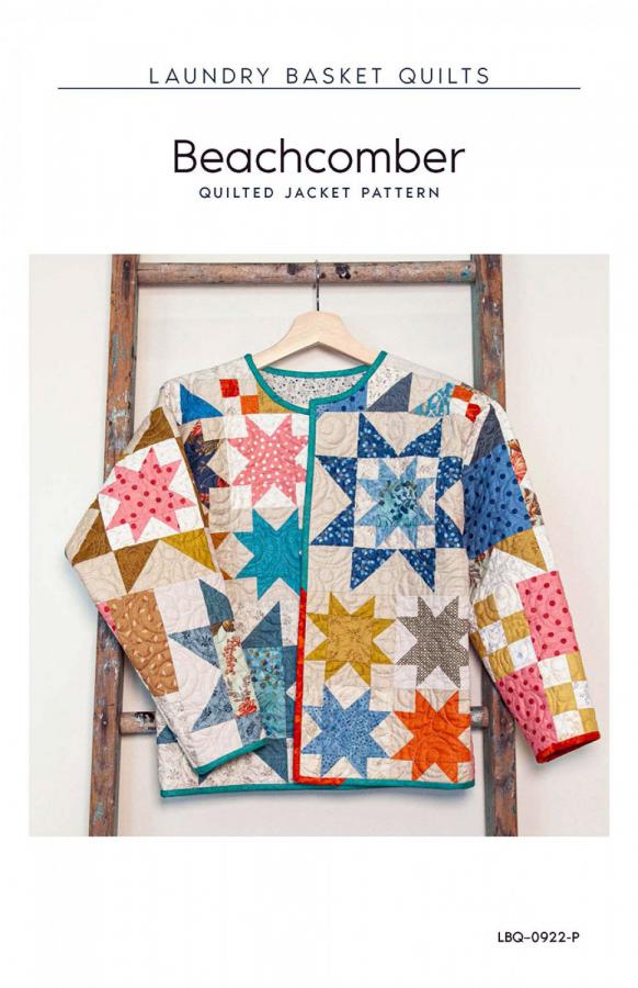 Beachcomber Jacket sewing pattern from Laundry Basket Quilts
