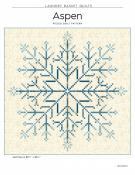 Aspen quilt sewing pattern from Laundry Basket Quilts