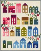 Summer Village quilt sewing pattern from Laundry Basket Quilts 2
